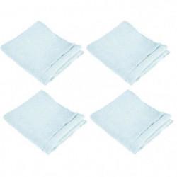 VENT DU SUD Lot de 4 serviettes de table SYMPHONIE 100% lin