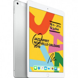 "iPad 7 10,2"" Retina 32Go WiFi + Cellular - Argent"