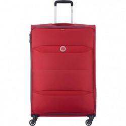 NEW EASY TRIP Valise Trolley 78 Cm 4 Roues TSA Rouge