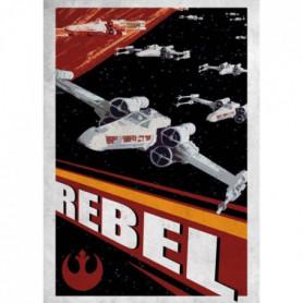 Poster métallique Star Wars Galactic Propaganda
