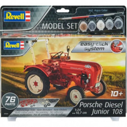 REVELL Easy-Click Model set Porsche Junior 108 -67820
