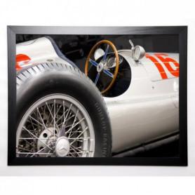 LE PHILOU Image encadrée Voiture 1 57x77 cm Blanc