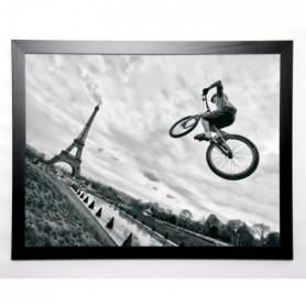 AG Image encadrée Street sports 67x87 cm Gris