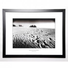 BAZIN EMMANUEL Image encadrée Traces dunaires 57x77 cm