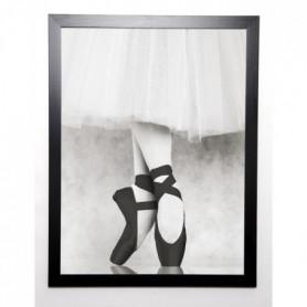 BLONDE ATTITUDE Image encadrée Pas de Pointes 57x77 cm