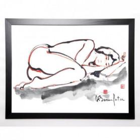 BONNEFOIT ALAIN Image encadrée Kristel 57x77 cm
