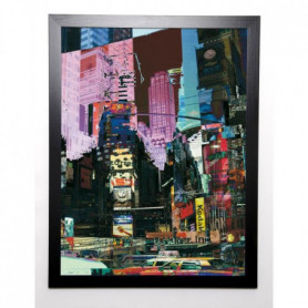 BOUTEILLER CÉDRIC Image encadrée Broadway 57x77 cm