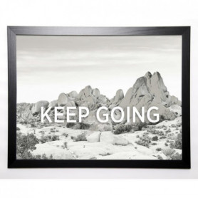 BRAUN STUDIO Image encadrée Keep Going 57x77 cm