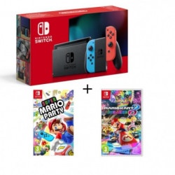 Console Nintendo Switch Néon + Super Mario Party +  …