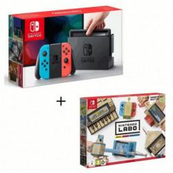 Nintendo Switch Néon + Nintendo Labo Multi-Kit