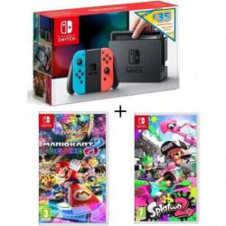 Console Nintendo Switch avec paire de Joy-Con néon +  …