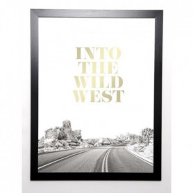 BRAUN STUDIO Image encadrée Wild West 57x77 cm