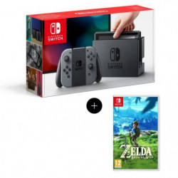 Console Nintendo Switch + Paire de Joy-Con gris + …