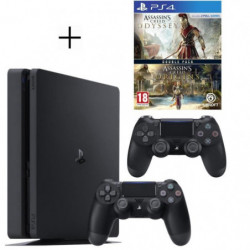 Pack Playstation : PS4 500Go + Manette PS4 + Voucher Fortnite