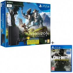 Nouvelle PS4 Slim 1 To + 2 Jeux : Horizon Zero Dawn + …