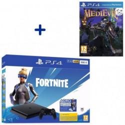 Pack PlayStation : PS4 Slim 500 Go Noire + MediEvil + …