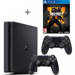 Pack PS4 500 Go Noire + Manette PS4 DualShock 4 Noire V2 + …