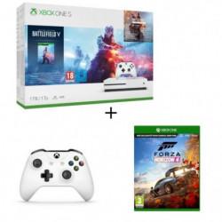 Xbox One S 1 To Battlefield V + 2e manette +Forza Horizon 4