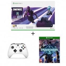 Xbox One S 1 To Fortnite + 2e manette + Crackdown 3