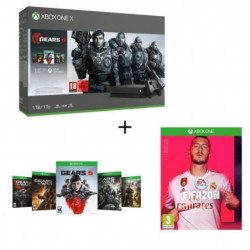 Xbox One X 1 To + 5 Jeux Gears of War + …