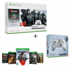 Xbox One S 1 To + 5 jeux Gears of War + …