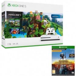 Xbox One S 1 To Minecraft + PUBG