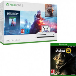 Xbox One S 1 To Battlefield V + Fallout 76