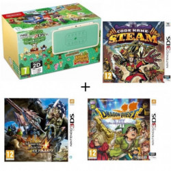 New 2DS XL Animal Crossing + Monster Hunter 4 Ultimate + …