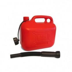 IMDIFA Jerrican Plastique Rouge pour Hydrocarbures 5L