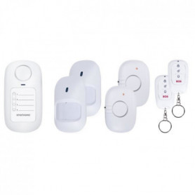 SMARTWARES Pack Alarme maison sans fil SC50-6