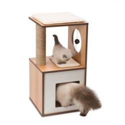 Arbre A Chat Vesper V-box Small Naturel H72.5cm