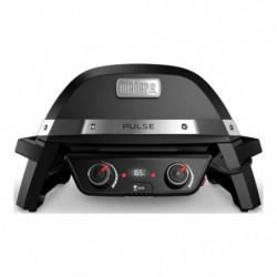 WEBER Barbecue électrique Pulse 2000 - Fonte d'acier émaillée