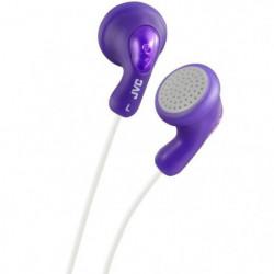 JVC HA F14 V - Ecouteurs bouton violet