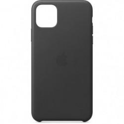 APPLE Coque Cuir Noir pour iPhone 11 Pro Max
