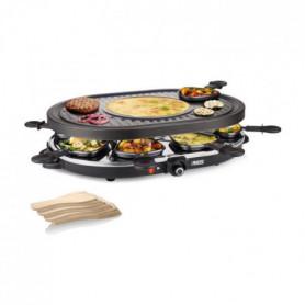 PRINCESS 162700 Appareil a raclette 8 personnes