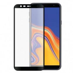 Verre trempe 2,5D pour Samsung Galaxy J4+ Noir