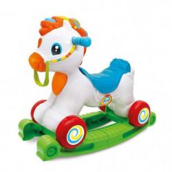 CLEMENTONI Baby - Mahé mon cheval adoré - Cheval a Bascule et
