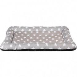TRIXIE Matelas Stars 100 × 70 cm - Taupe - Pour chien