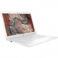 "HP Chromebook - 14""HD - Celeron N3350 - RAM 4Go - Stockage 32Go"