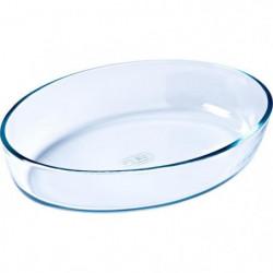 PYREX - ESSENTIALS - Plat a four ovale en verre 35*24 cm