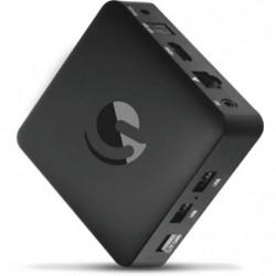EMATIC SRT202 Box Android TV  UHD 4K - Netflix - You Tube