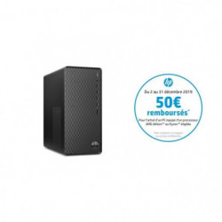 HP PC de bureau - AMD Athlon 300GE - RAM 4Go - Stockage 1To