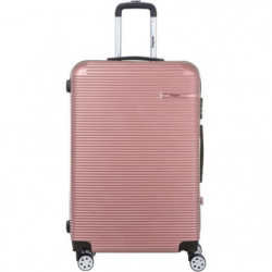 SINEQUANONE Valise Trolley Or Rose