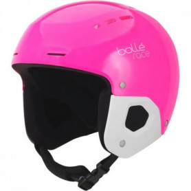 BOLLE Casque de ski Quickster Shiny - Rose et noir