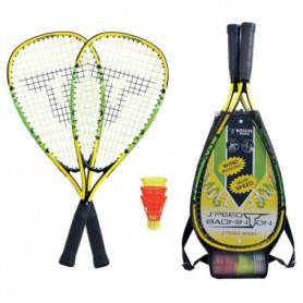 TALBOT TORRO Set de Badminton Speed 4000 - 2 raquettes - 3 volants