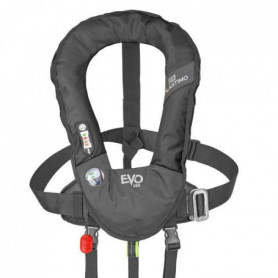 PLASTIMO Gilet de sauvetage Evo 165N Manuel avec harnais - Noir