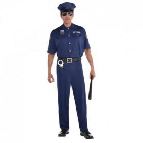 AMSCAN Déguisement Policier en patrouille - Adulte