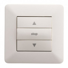 ARTEZO Interrupteur pour volet roulant  10 A blanc