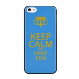 BIGBEN CONNECTED Coque Rigide Iphone 5C Motifs Keep Calm Fun