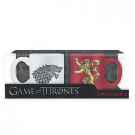 Set de 2 Mugs Games Of Thrones - 2 mugs a espreso - 110 ml